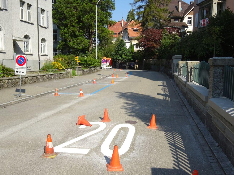 Begegnungszone Hebelstrasse
